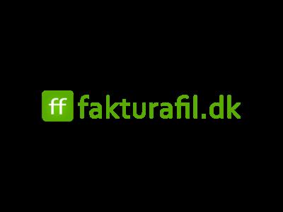 Borg Regnskab - Digitalt Bogholderi - Fakturafil